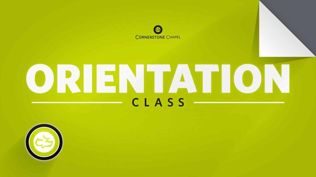 Orientation Class